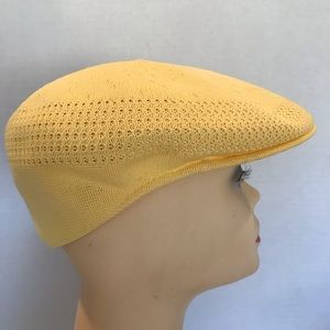 Vintage Original Kangol Yellow Hat Medium